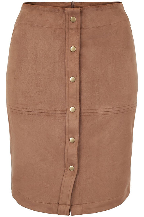 Untold Stories Angel Suede Skirt