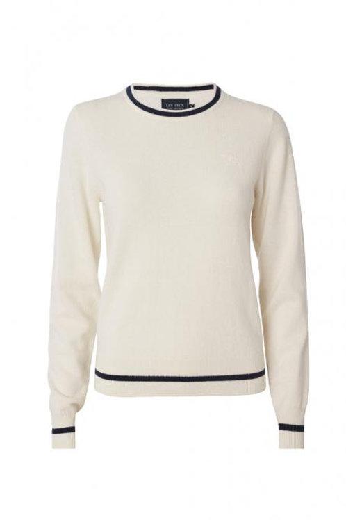 Les Deux Cashmerino knitwear White