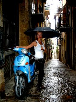 Vespa, Cefalù Sicilia