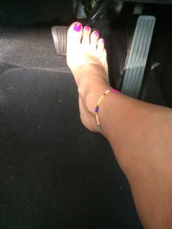 Barefoot Driving Fetish