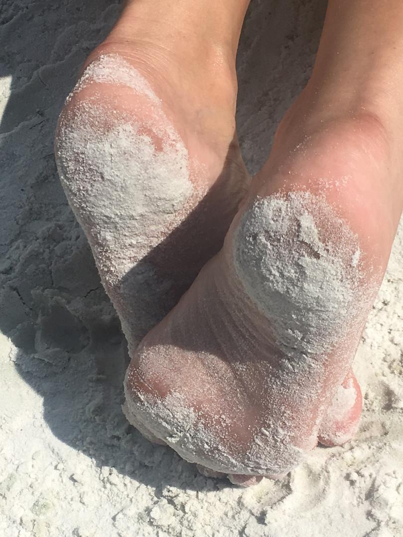 Sandy soles