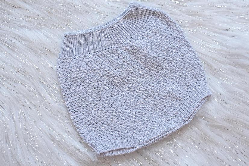 Light Grey Knit Pants