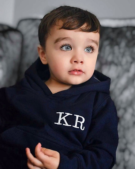 Navy Blue Pullover Oversized Hoodie