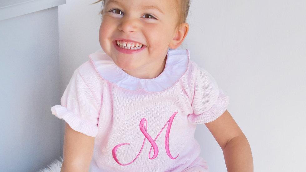Pink Toddler Knit Set