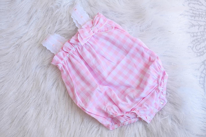 Myla Gingham Dungarees (Small Sizing)