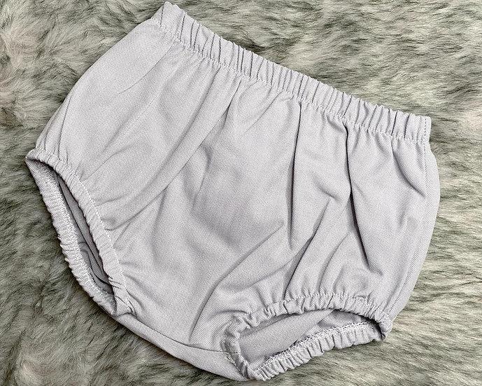 Grey Cotton Bloomers / Jam Pants
