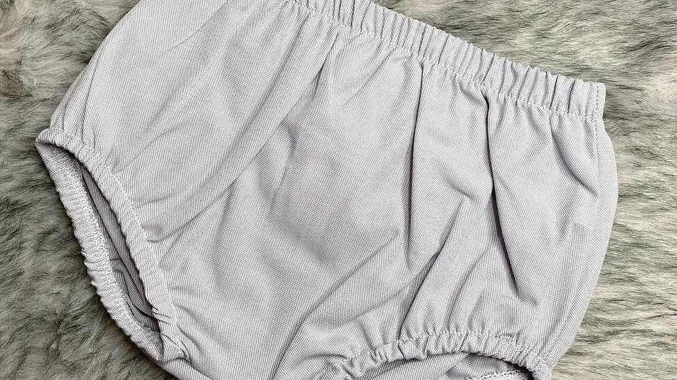Grey Cotton Bloomers / Jam Pants