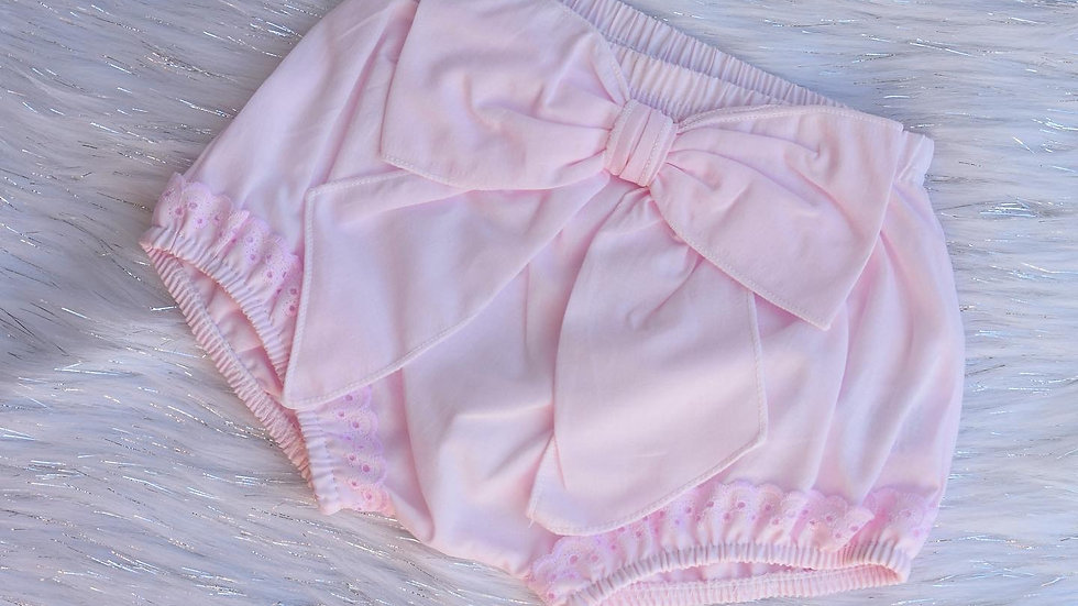 Ella Pink Bow and Frill Shorts
