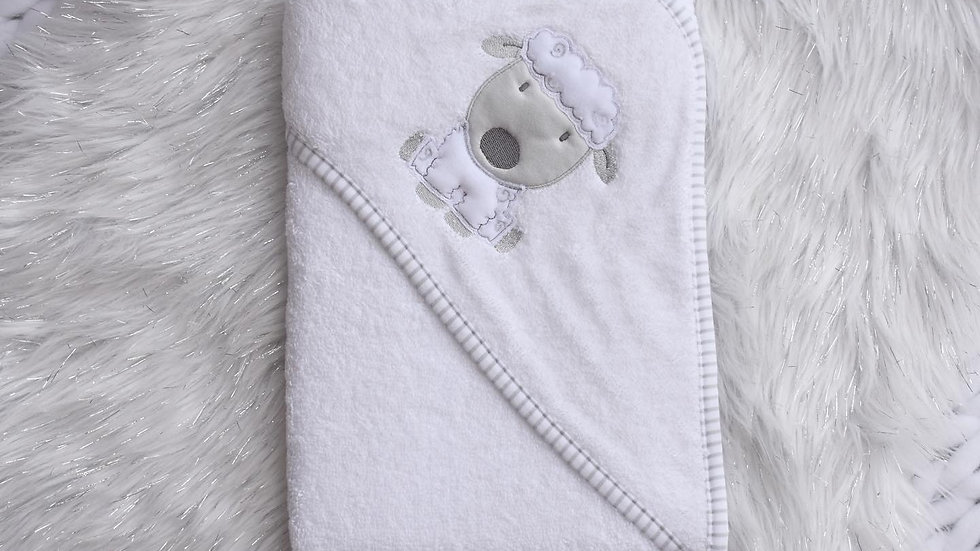 Lamb Hooded Towel