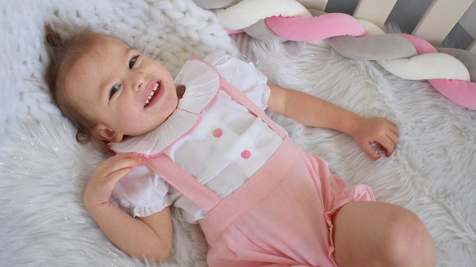 Maddison 2 Piece Dungaree set
