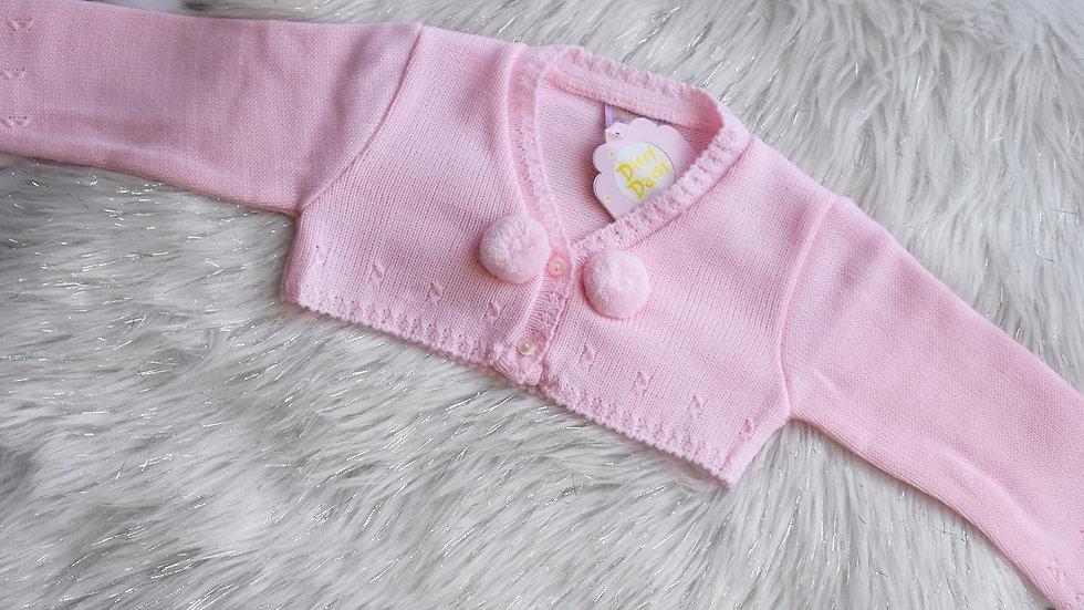 Pink Pom Bolero