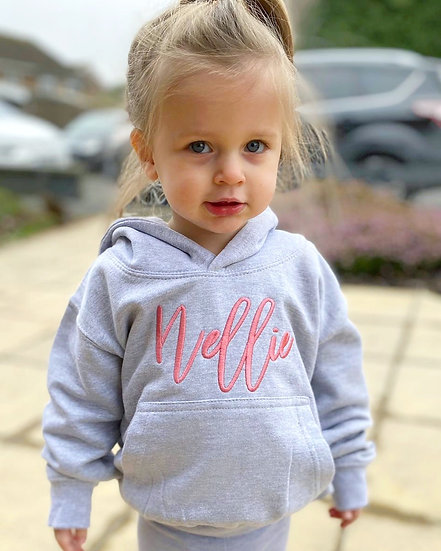 Grey Pullover Oversized Hoodie