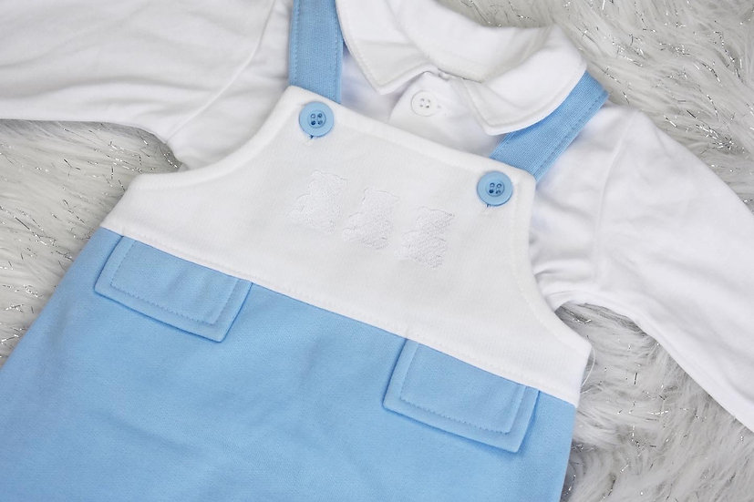 Teddy Blue Dungarees