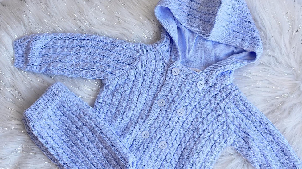 Cable Knit Comfy Set
