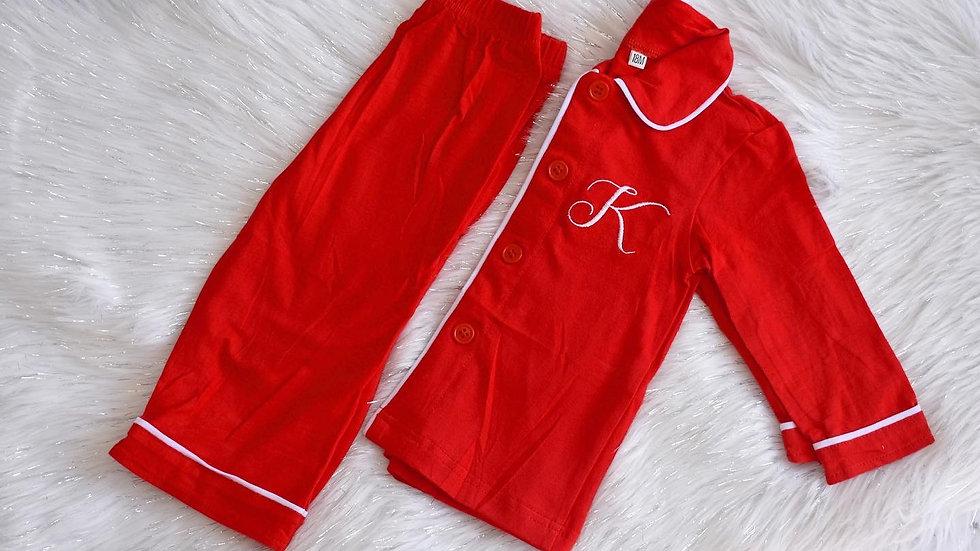 Boys Traditional Christmas Pyjamas