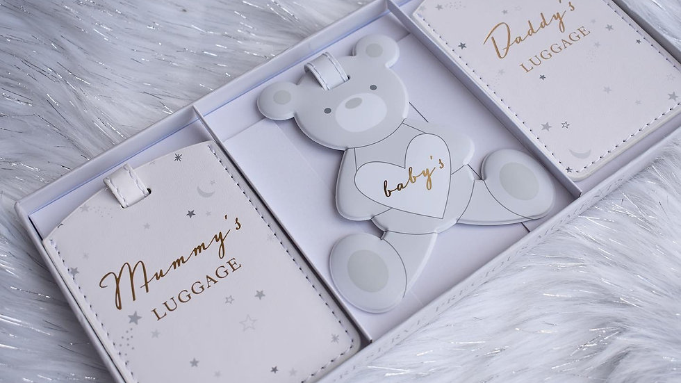 Set of 3 Family Luggage Tags