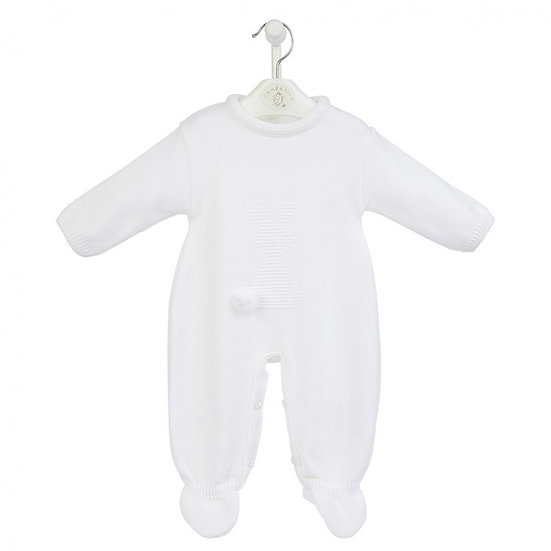 Bunny Knitted Romper Suit