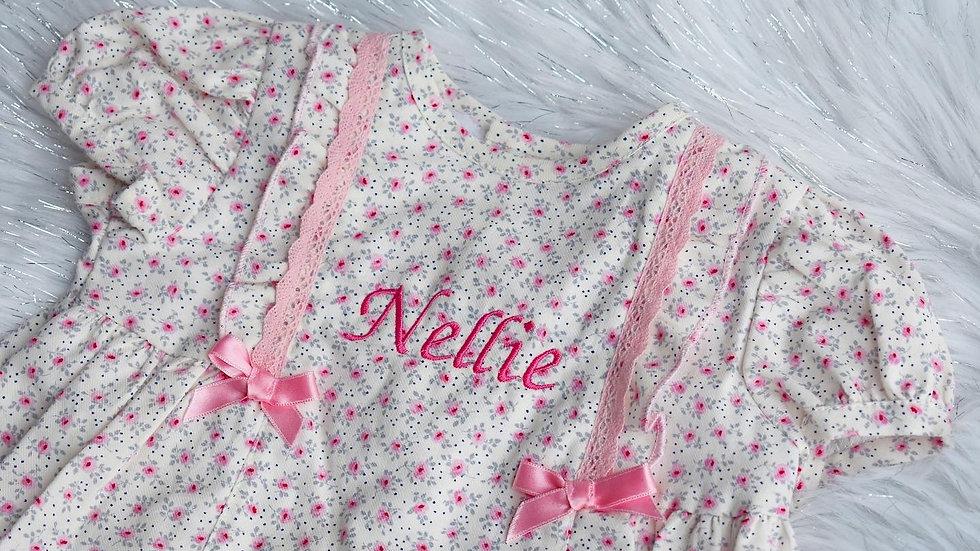 Pink Ditsy Dress