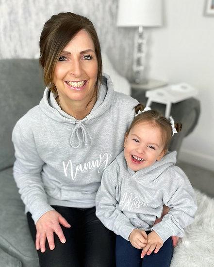 Women's Grey Pullover Hoodie