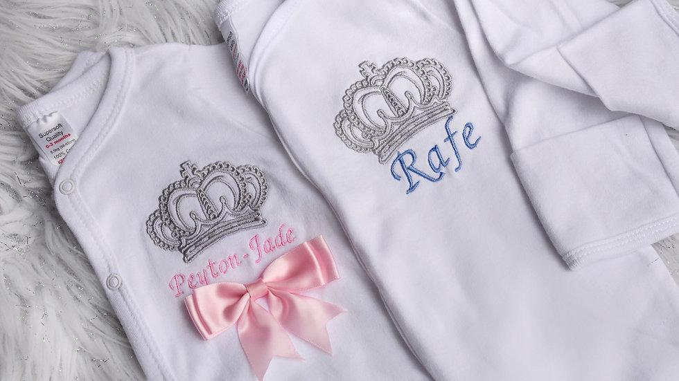 Personalised Royal Sleepsuit