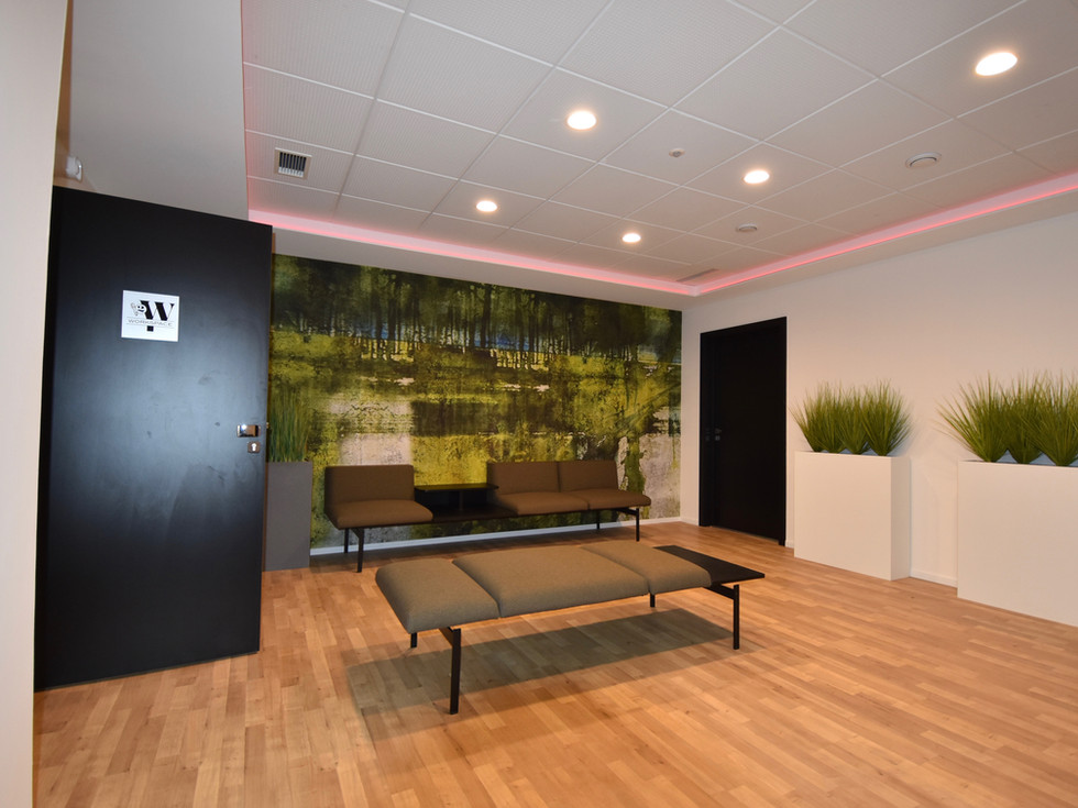 Hall d'accueil immeuble de locations de bureaux à Colmar