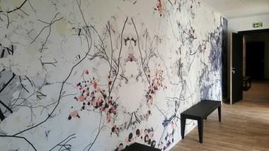Mur design, ambiance zen