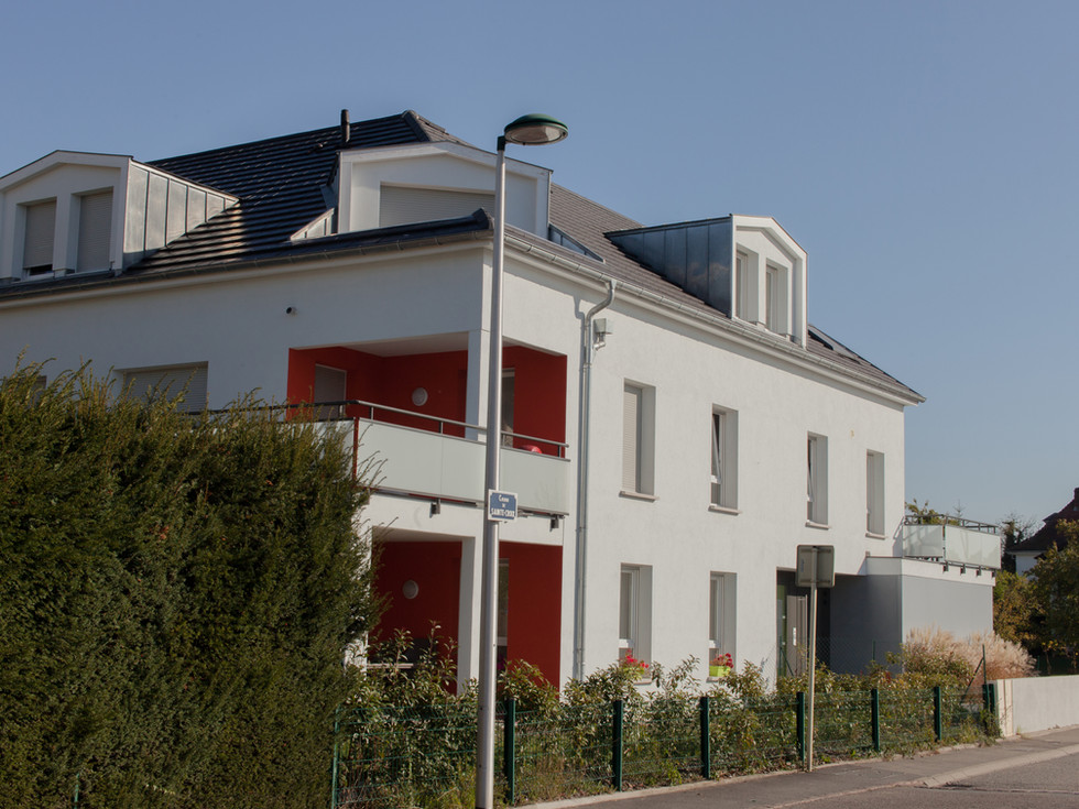 petite copropriété au Niklausrbunn-Weg à Colmar proposée par Toniutti