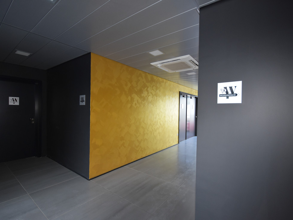 Entrée immeuble Gold dans le quartier des maraichers à Colmar