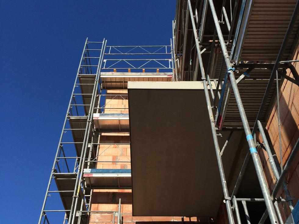 Construction immeuble réalisé par Toniutti à Colmar en Alsace