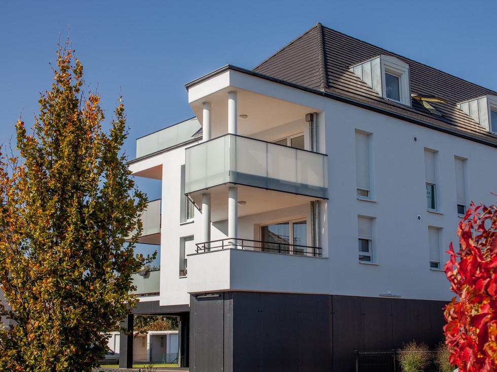 immeuble conçu et commercialisé par Toniutti immobilier à Colmar en Alsace