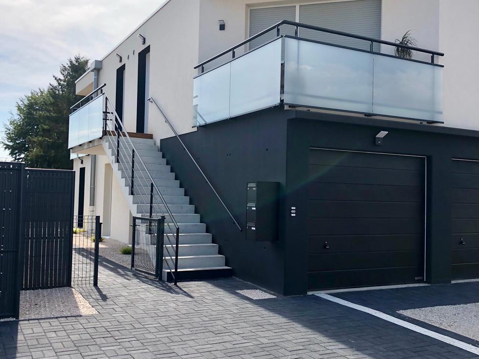 Extérieur immeuble dans le quartier sud de Colmar proposé par Toniutti
