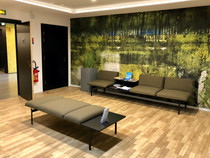 Salle d'attente (ambiance nature)