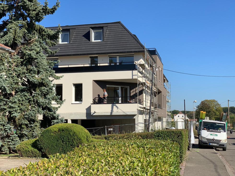 vue extérieure  copropriété  au Niklausrbunn-Weg à Colmar