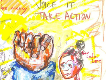 Artists as Activists, Gina Griffiths and Ann Ledo