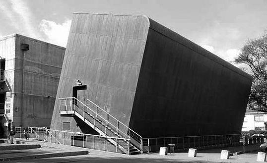 Espace Diderot à Rezé,Loire Atlantiqueconçu par l'architecte Massimiliano Fuksas