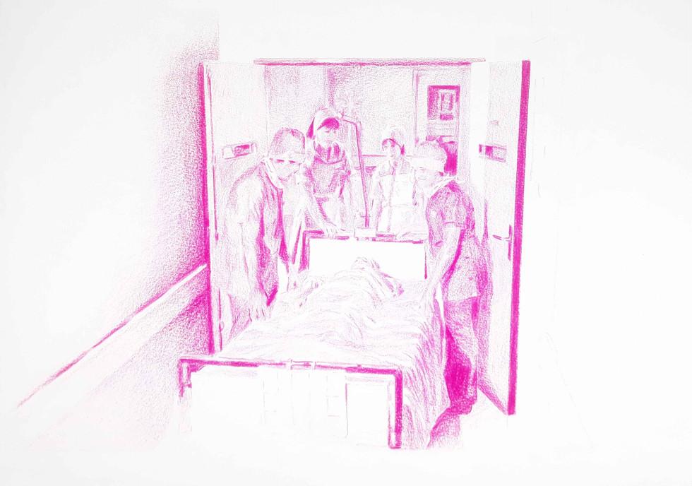 A l'hôpital / 27 04 2020