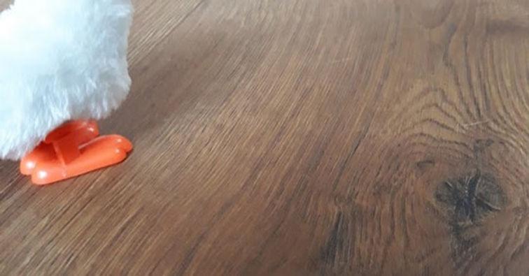 image tirée d'un film, un jouet d'enfant qui représente un poussin
