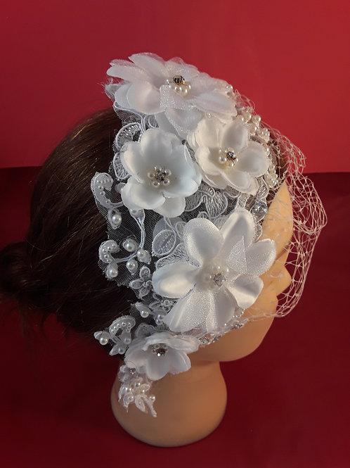 CassyD  Vintage Inspired Bridal Birdcage Veil