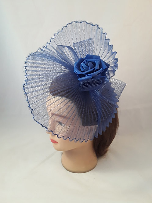 CassyD Navy Blue Fascinator