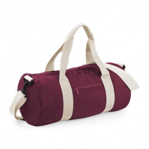 LS Drama Workshops (Branded) Standard Size Barrel Bag - Various Colours