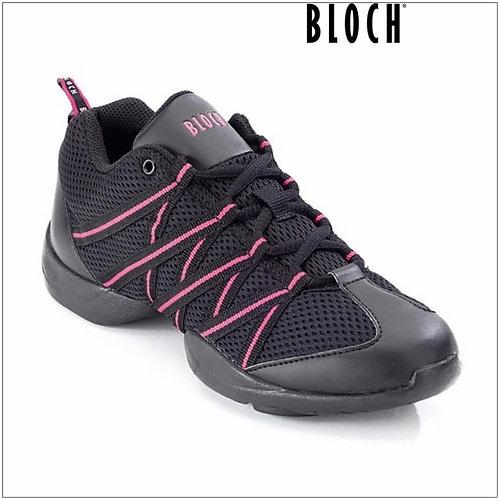 Bloch Criss Cross Mesh Dance Trainers