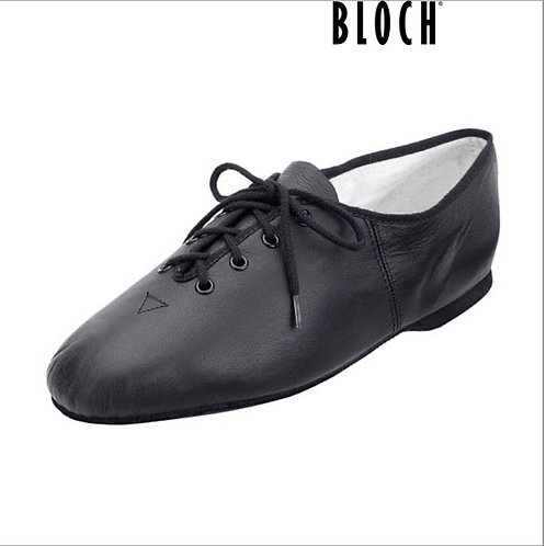 Bloch Essential Leather Lace Up Jazz Shoes