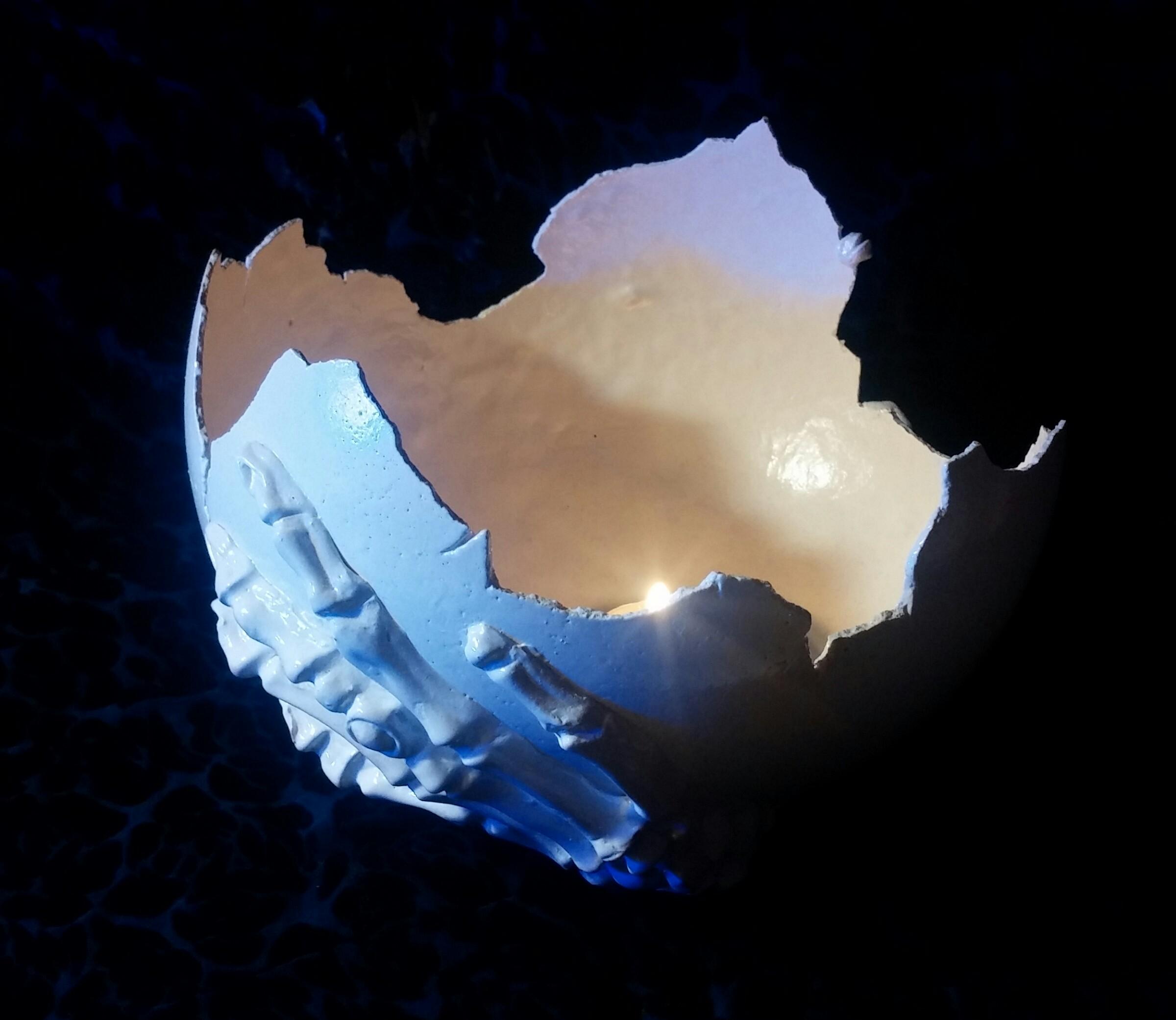 פמוט קליפת-ביצה