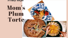 11 Steps to Mom's Plum Torte