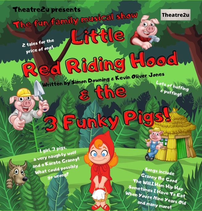 Little Red Riding Hood & the 3 Funky Pig