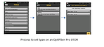 Выделение участка линка Optifiber Pro