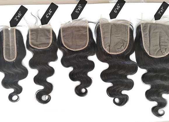 4/4 and 5/5 HD Lace Closures