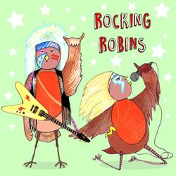 Rocking Robins Card
