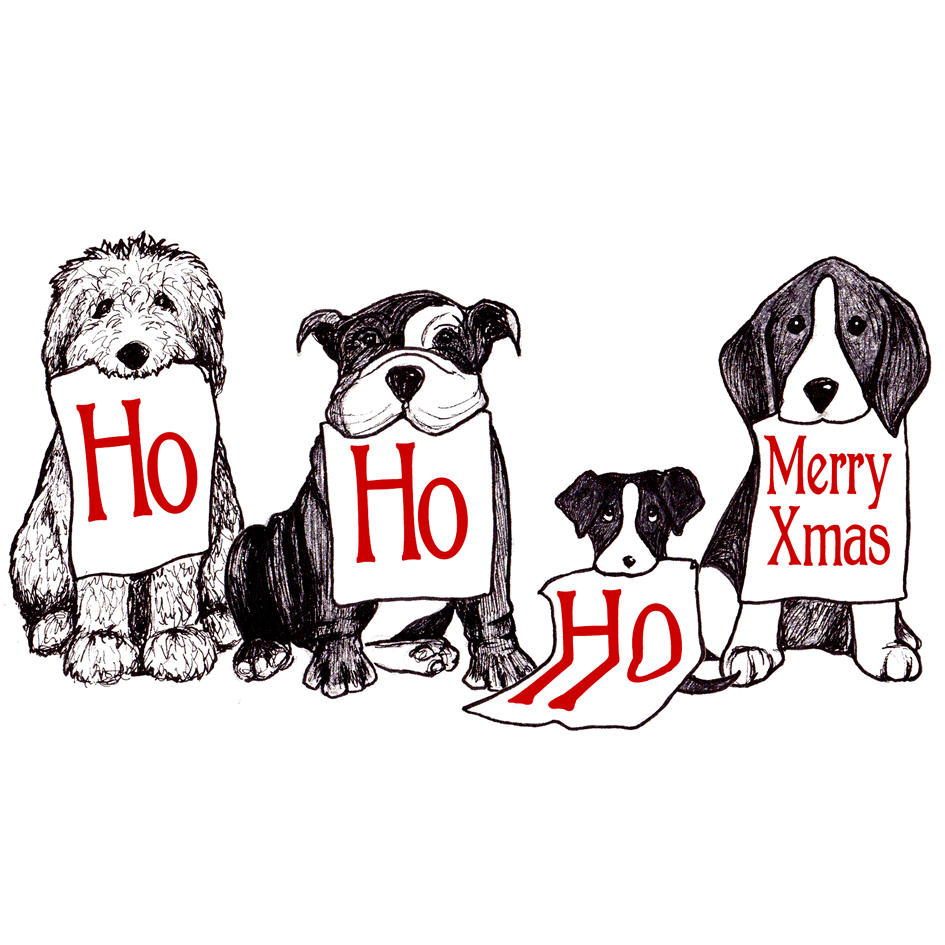 HO HO HO Doggies