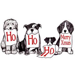 HO HO HO Doggies